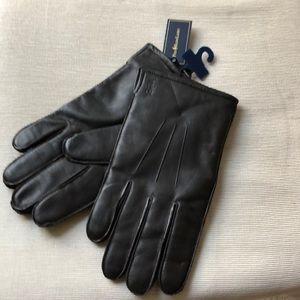 Ralph Lauren  lather gloves for man
